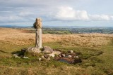 CRW_00878.jpg Spurrell's Cross - Glasscombe Ball, Dartmoor - © A Santillo 2003