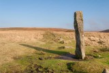 _MG_1558-Edit.jpg Drizzlecombe Stone Group menhir at head of stone row - Ditsworthy Warren, Dartmoor - © A Santillo 2003