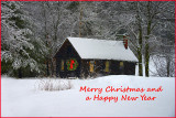 _DSC5014 Snowy Cabin - See Comment below - then enlarge