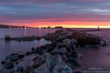 Artists point in Grand Marais at sunrise