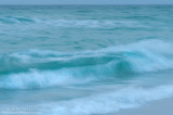 Miramar beach (Destin, FL) waves after sunset