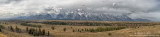 Grand Teton Range panoramic