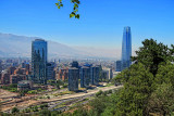 A glimpse of Santiago