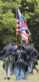 flag troop and bugler