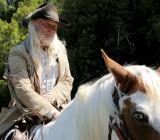 reflective cowboy
