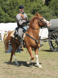 Yankee soldier on horse
