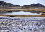 Tecopa mud flats and salt flats
