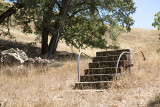 Steps to burned out Hurd Ranch