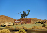 Fort Irwin Welcome Sign