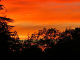 Sunset in Sonoma County