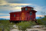 Goffs Santa Fe caboose 353