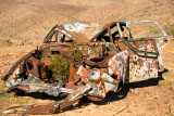 Bullet-ridden Car Noonday Mine