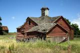 Roblar Rd barn with cupola