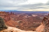 1DX69037 - View over Mesa Arch