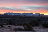 1DX68054 - La Sal Mountains pre-dawn