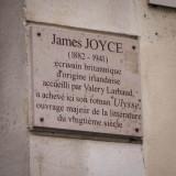 James Joyce wrote Ulysses here