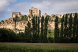 View of Beynac castle