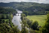 The Dordogne River - from Beynac
