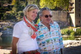 RS tour Guide, Rolinka, with bus driver, Philippe