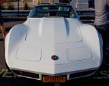 1974 White Corvette
