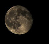 Waning Gibbous Moon 95%