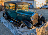 Model A Ford (1927-1931) in the Golden Hour