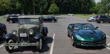 A bit of Americana - Ford Model A Rumble Seat Sport Coupe & Chevrolet Corvette