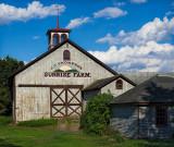 Sunrise Farm (B&W version below- added 8/03)