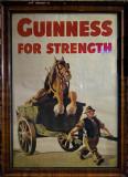 :) Old poster in the Brazen Head Pub.