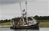Ruth And Gail fishing boat returning to to Rock Harbor