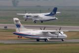645_1589  ATR-42s C-GWWR and C-GWEA