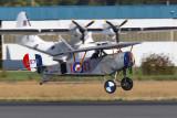 256_2345  2002 Nieuport 11 Bebe Replica C/N 006  N110DK