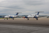 645_7327  Beech King Air 200s C-FWWF and C-FWWQ