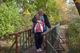 Jim and Bea 2013- On my bridge 51 years after previous picture