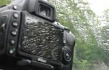 Photographing raindrops