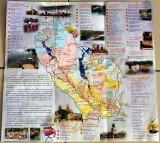 Map of Kanchanaburi
