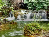 Mae Khamin Waterfall - Lowest Point