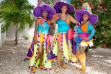 Curacao ladies,ready for the Carnaval !