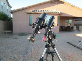 Explore Scientific 102ED Refractor and the Celestron AVX