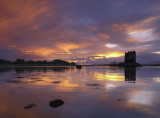 Castle Stalker Sunset 1