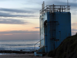 20160402_012489 Thirroul Pool Pumping Station (With Seagull), Dawn (Sat 02 Apr)