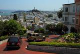 Lombard Street - San Francisco - August 2013