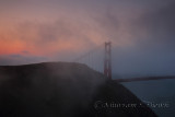 Foggy Golden Gate Sunrise - San Francisco - August 2013