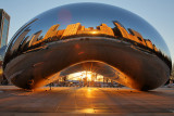 2014 Chicago - Sunrise at the Bean