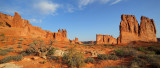 2012 Courtyard Section Panoramic - Arches NP