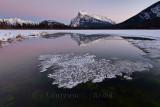 Vermillion Lakes Sunsets, Banff NP - November 2015