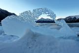 Abraham Lake Arch - January 2016