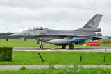 F-16 met oefenbom
