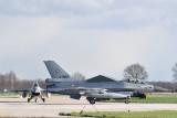 Nucleair Security Summit Combat Air Patrol F-16's