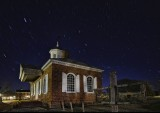 Colonial Williamsburg Courthouse at Night